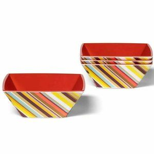 Missoni For Target Cereal Bowls Square 4 Pack